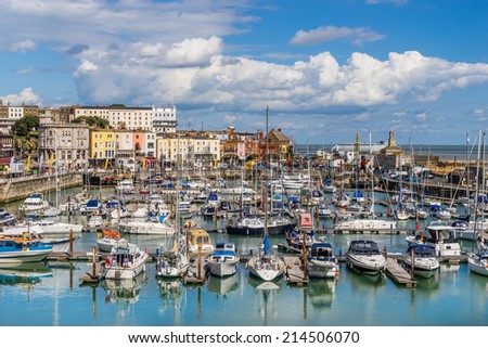 Ramsgate Harbour - stock photo