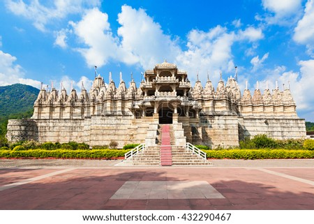 Ranakpur Temple is a jain temple in Rajasthan, India