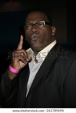 Randy Jackson attends the Amberwatch Foundation Launch Party held at the Globe Theatre in Universal City, California on April 25, 2006.