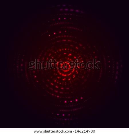 Range red equalizer - stock photo