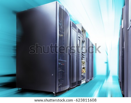 ranks modern supercomputers in computational data center with motion