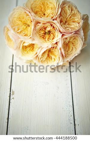 Ranunculus flower bouquet - stock photo