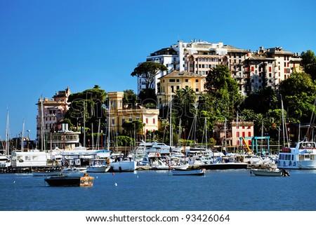 Rapallo Resort, Italian Riviera, Europe - stock photo