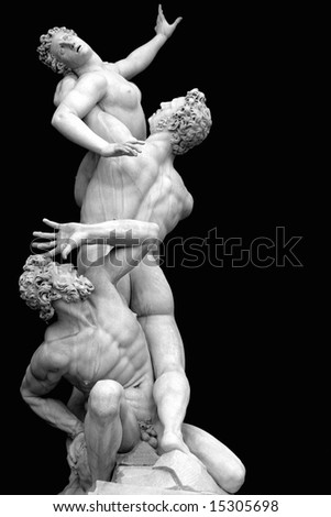 Rape of the Sabine Woman Florence Italy