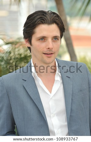"Raphael Personnaz at the photocall for his new movie ""Three Worlds"" in competition at the 65th Festival de Cannes. May 25, 2012  Cannes, France Picture: Paul Smith / Featureflash"