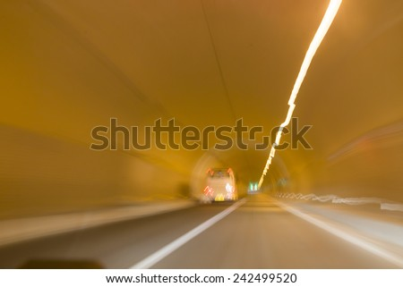 Rapid car tunnel