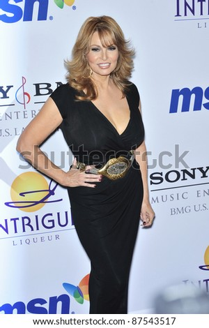 Raquel Welch at music mogul Clive Davis' annual pre-Grammy party at the Beverly Hilton Hotel. February 9, 2008  Los Angeles, CA Picture: Paul Smith / Featureflash