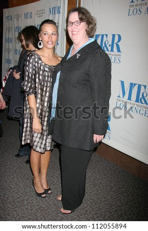 "Rashida Jones and Phyllis Smith at the 24th Annual William S. Paley Television Festival Featuring ""The Office"" presented by the Museum of Television and Radio. DGA, Beverly Hills, CA. 03-02-07 - stock photo"