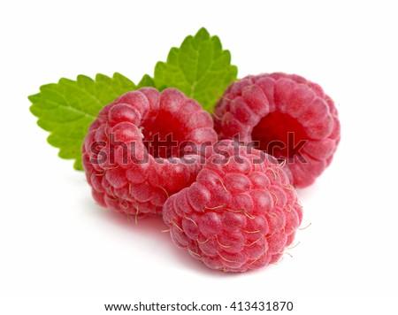 Raspberry . - stock photo