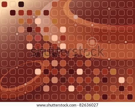 raster abstract brownish futuristic background, vector file available