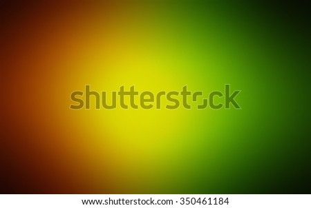 Raster abstract dark green, yellow blurred background, smooth gradient texture color, shiny bright website pattern, banner header or sidebar graphic art image