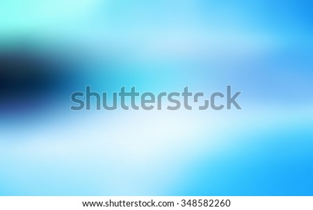 Raster abstract light blue blurred background, smooth gradient texture color, shiny bright website pattern, banner header or sidebar graphic art image