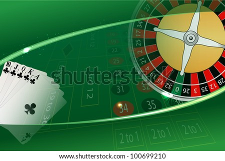 raster casino background, vector version available