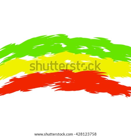 Raster copy. Reggae background in Rasta colors.