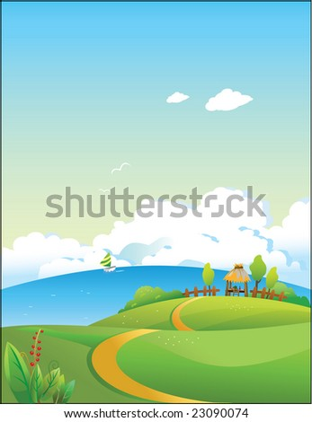 Raster decorative illustration,created with digital software,designed for background, web wallpaper template