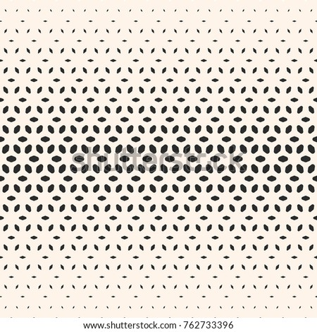 Raster halftone texture monochrome seamless pattern stock for Object pool design pattern