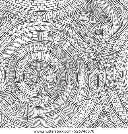 Raster Illustration Doodle Background With Doodles Pattern Can Be Used For Wallpaper