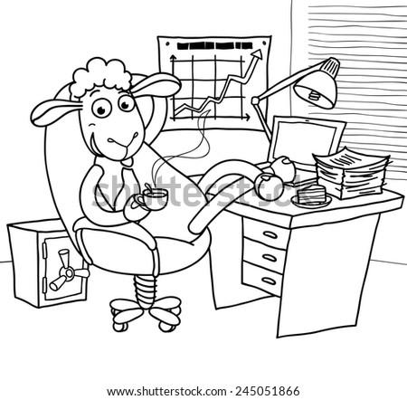 office adminstator coloring pages - photo#25