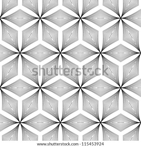raster seamless abstract texture pattern background - stock photo