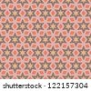 raster seamless floral pattern background - stock vector