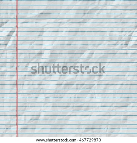 College Ruled Paper Stock Images RoyaltyFree Images  Vectors