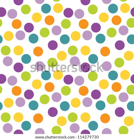 Daisybees easter spring set on shutterstock raster seamless polka dots background use for greeting cards birthday easter baby negle Choice Image
