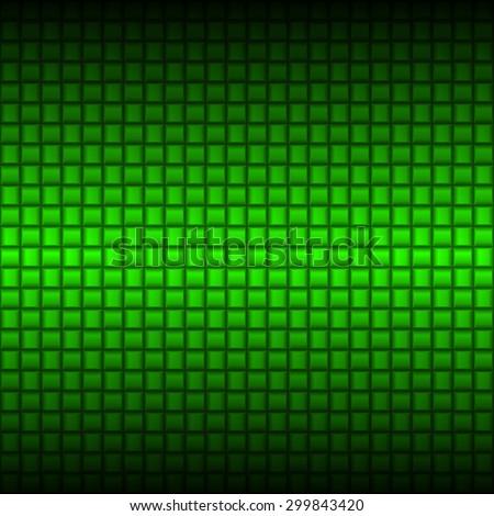 Raster version. Metalic green industrial texture. Illustration for design - stock photo