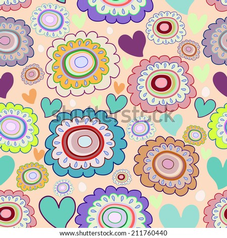 Raster version of a vector seamless pattern.