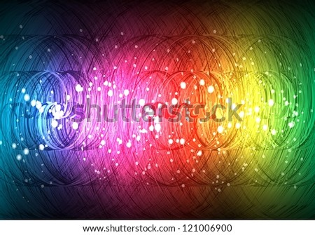 raster version of abstract spirals background - stock photo