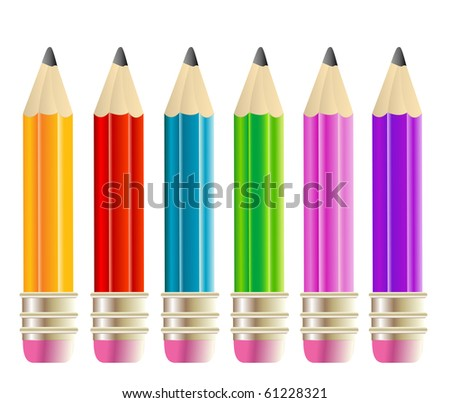raster version of colored pencils