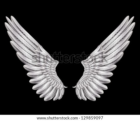 raster version of silver wings