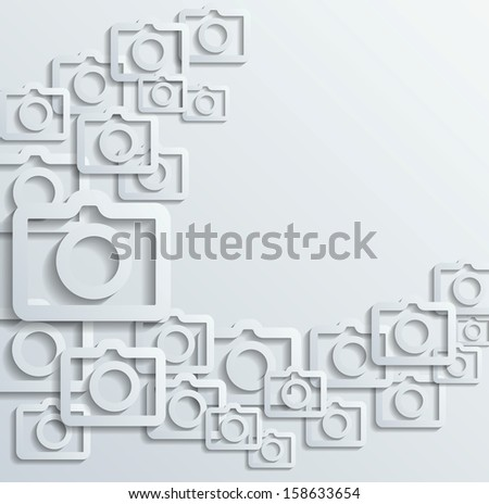 raster version photo background - stock photo