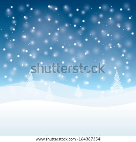 rasterized version. winter is coming. Christmas greeting card.  illustration. - stock photo