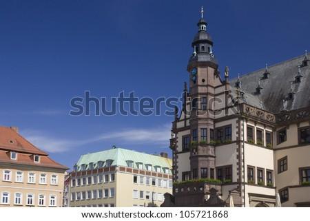 Rathaus der Stadt Schweinfurt - stock photo