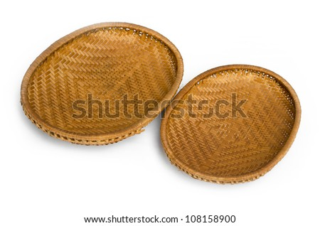 rattan Products from Thailand - stock photo