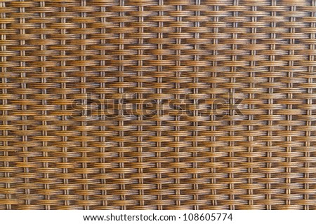 rattan texture and background - stock photo