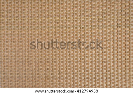 rattan weave background - stock photo