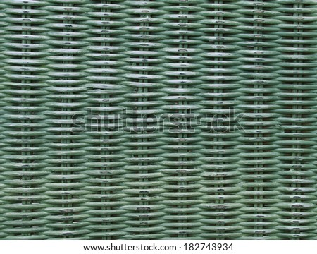 Rattan wicker texture as background - stock photo