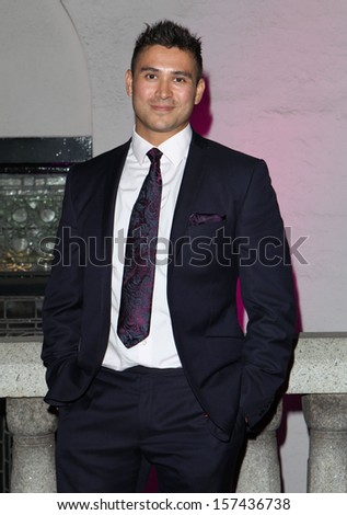 Rav Wilding arriving at the Inspiration Awards For Women 2013, at the Cadogan Hall, London. 02/10/2013
