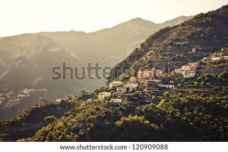 Ravello, Amalfi Coast, Italy. - stock photo