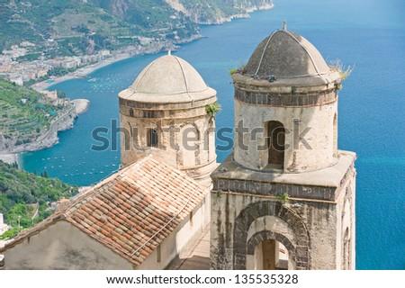 Ravello church - stock photo