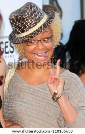 "Raven-Symone at the ""Book of Mormon"" Los Angeles Opening Night, Pantages, Hollywood, CA 09-12-12"