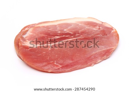 Raw Gammon Steak