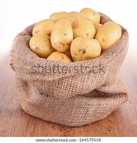raw potato