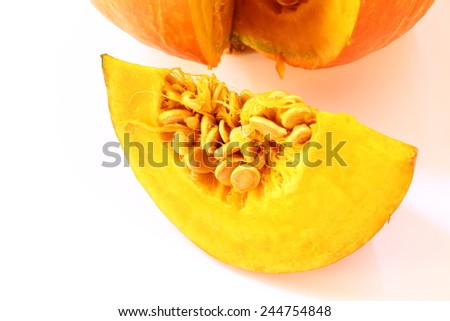Raw Pumpkin - stock photo