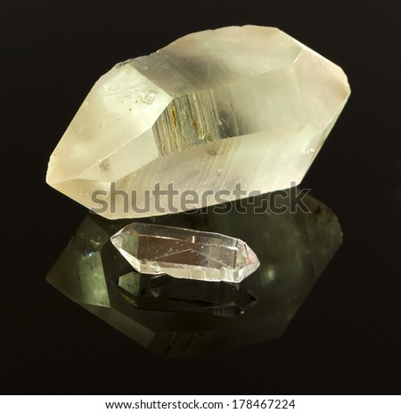 raw quartz crystal