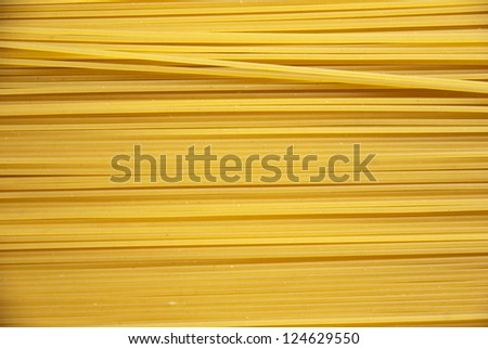Raw spaghetti full image - stock photo