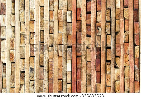 Raw wood - Ecological wooden pattern texture Wallpaper