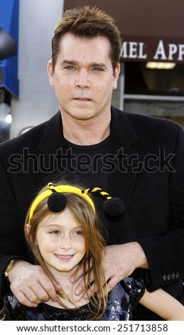"Ray Liotta attends the Los Angeles Premiere of ""Bee Movie"" held at the Mann Village Theater in Westwood, California, United States on October 28, 2007."