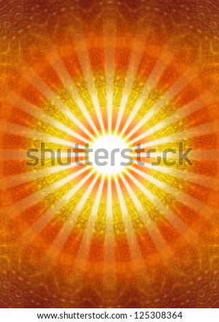 Ray of Light / Ray of Hope / Heaven's Gate - stock photo